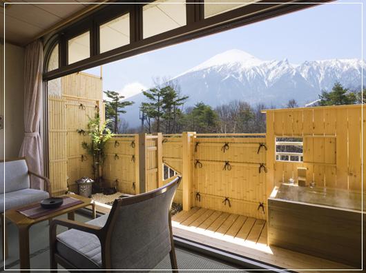 岩手山展望露天風呂付和室10畳間