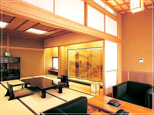 檜の温泉付別館特別室