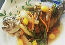 八幡平産岩魚の塩焼き